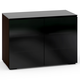 Salamander Oslo 323 Twin Cabinet (Wenge with Black)