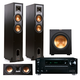 Onkyo TX-RZ710 7.2 Channel Network A/V Receiver with Klipsch R26F 3.1 Reference Home Theater Package