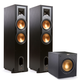 Klipsch R-28F Reference Floorstanding Speakers with R-10SWi 10