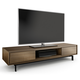 BDI Signal 8323 Triple Wide Enclosed TV Cabinet (Natural Walnut)