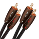 AudioQuest Big Sur RCA To RCA Analog Audio Interconnects 8m