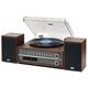 TEAC MC-D800 Turntable System With Bluetooth/CD/Radio (Cherry)