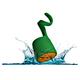 BOOM Swimmer Duo Portable Bluetooth Waterproof Speaker (Green/Orange)