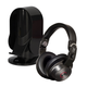 Cleer Audio DJ Professional Quality Over-Ear Headphones with Heads Up Base Stand (Black)