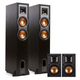 Klipsch R-26F 4.0 Reference Floorstanding Speaker Package with R-14M Reference Monitor Speakers (Black)