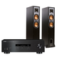 Yamaha R-S202 Bluetooth Stereo Receiver with Klipsch R-26F Reference Floorstanding Speakers (Black)