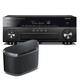 Yamaha RX-A860 AVENTAGE 7.2 Channel Network AV Receiver with WX-030 MusicCast Wireless Speaker (Black)