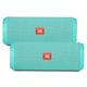 JBL Flip 3 Portable Wireless Bluetooth Speaker Pair (Teal)