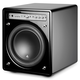 JL Audio f110-SATIN 10-inch (250 mm) Powered Subwoofer - Each (Black Satin Finish)