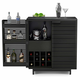 BDI CORRIDOR Compact Bar 5620 (Charcoal Stained Ash)