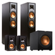 Klipsch R-28F Reference 4.1 Channel Home Theater Speaker Package