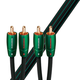 AudioQuest Evergreen RCA Male to RCA Male - 26.25 ft. (8m)