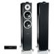 Dynaudio Xeo 6 Wireless Floorstanding Speakers Set With Hub (Satin Black)