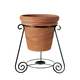 PlanterSpeakers 6.17 Planter Speakers with 360-Degree Sound - Pair (Terra Cotta)