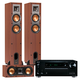 Onkyo TX-RZ710 7.2 Channel A/V Wireless Network Receiver with Klipsch R-24F and R-25C Reference Speakers (Cherry)