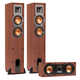 Klipsch R-24F Reference Floorstanding Speakers with R-25C Reference Center Speaker (Cherry)
