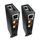 Klipsch R-26FA Dolby Atmos Floorstanding Speakers - Pair (Black)