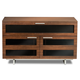 BDI Avion 8928 Double Wide Enclosed Cabinet (Chocolate Stained Walnut)