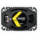 Kicker DSC460 DS Series 4x6 4-Ohm Coaxial Speaker