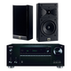 Onkyo TX-RZ710 7.2 Channel A/V Wireless Network Receiver with JBL Arena 120 2-Way 5 1/2