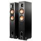 Klipsch R-26PF Powered Floorstanding Speakers - Pair (Black)