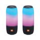 JBL Pulse 3 Portable Bluetooth Speakers - Pair (Black)