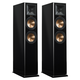 Klipsch Rp-260F Reference Premiere Floorstanding Speakers With Dual 6.5 Inch Cerametallic Cone Woofers - Pair (Piano Black)