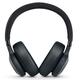 JBL E65BTNC Wireless Over-Ear Noise-Cancelling Headphones with Mic and One-Button Remote (Black)
