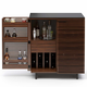 BDI CORRIDOR Compact Bar 5620 (Chocolate Stained Walnut)