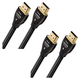 AudioQuest Pearl HDMI Cables with Ethernet Connection - 9.84 ft. (3m) - 2-Pack