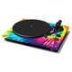 TEAC TN-420 Belt-Driven Turntable with S-Shaped Tonearm and USB Output (Tie-Dye)