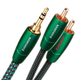 AudioQuest Evergreen 3.5mm to RCA Cable - 6.5 feet