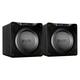 SVS SB16-Ultra 1500 Watt DSP Controlled 16 Subwoofers - Pair (Black Oak Veneer)