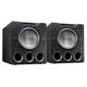 SVS PB-4000 13.5 1200W Ported Box Subwoofers - Pair (Premium Black Ash)