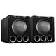 SVS PB16-Ultra 1500 Watt 16 Ported Cabinet Subwoofers - Pair (Black Oak Veneer)