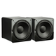 SVS SB-1000 300 Watt DSP Controlled 12 Ultra Compact Sealed Subwoofers - Pair (Piano Gloss Black)