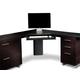 Bdi Sequel Corner Desk 6019 (Black)
