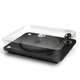 ELIPSON Alpha 100 RIAA 3-Speed Turntable with Built-In Preamp, Bluetooth, and USB (Black)