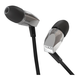 NAD Electronics VISO HP20 In-Ear Noise Isolation Headphones with 3-Button Apple Mic and Controls (Silver)