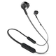 JBL T205BT Wireless In-Ear Headphones with Three-Button Remote and Microphone (Black)