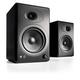 Audioengine A5+ Classic Powered Bookshelf Speakers - Pair (Black)