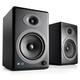 Audioengine A5+ Wireless Powered Bookshelf Speakers - Pair (Black)