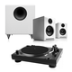 Music Hall USB-1 Turntable Package With Pair of Audioengine A2+ Desktop Speakers and S8 8