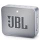 JBL GO 2 Portable Bluetooth Waterproof Speaker (Gray)