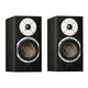 KLH Albany 2-Way Bookshelf Speakers - Pair (Black Oak)