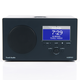 Tivoli Audio Albergo Clock Radio With Bluetooth (Graphite)