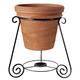 PlanterSpeakers 8.20 Planter Speakers with 360-Degree Sound - Pair (Terra Cotta)