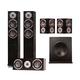 KLH Cambridge 5.1 Speaker System (Black Oak)