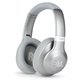 JBL Everest 710GA Wireless Over-Ear Headphones with Voice Activation and Built-In Remote and Microphone (Silver)