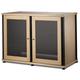 Salamander Synergy 323 Four Shelf AV Cabinet (Maple/Black)